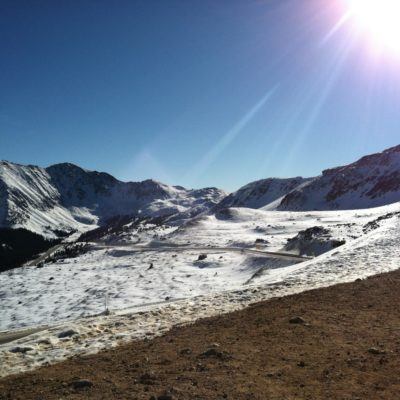 More from the summit of Loveland Pass