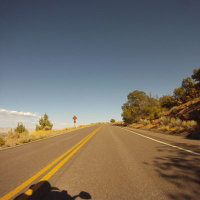 Road into Co Natl Monument