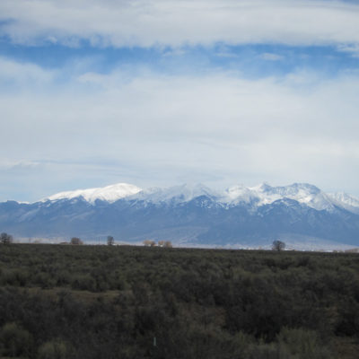 Mtn's From the San Luis Valley
