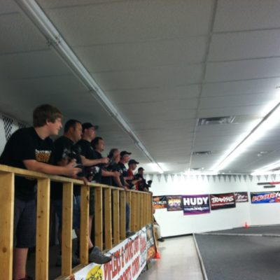 Drivers stand for the Stock 1/12th