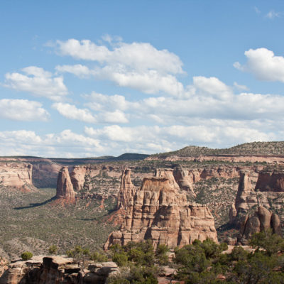 View of Monument Canyon