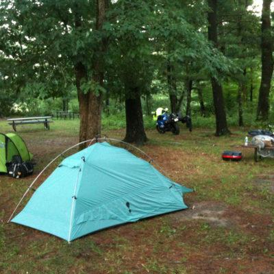 Camping at Ft McCoy