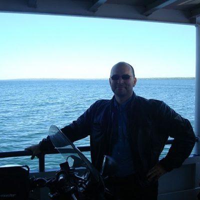 My man Whitey on the Ferry