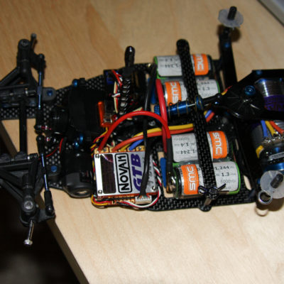 Car upgraded in 2007 to brushless as I got back into R/C in Madison, WI