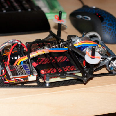 FIrst step into running LiPo batteries, and a 13.5 Motor for 1/12th. First person to try it at the track I ran at in early 2009