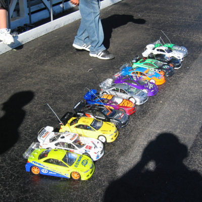 The normal line up every weekend to race in Monroe