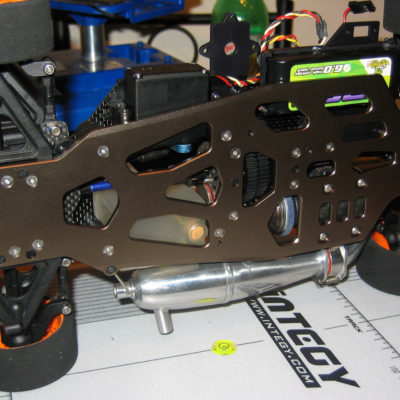 New 7075 chassis, all pivot balls were titanium, new drive line, new engine, new top deck, etc...