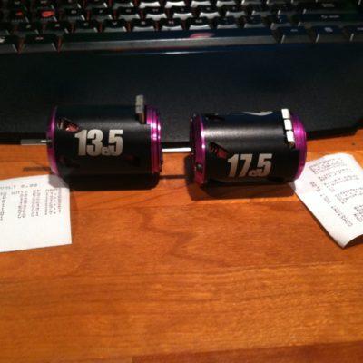 New dyno tuned motors