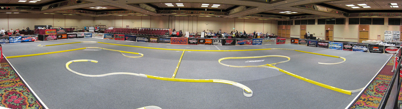 Updated picture of the track from yesterday morning before practice started.