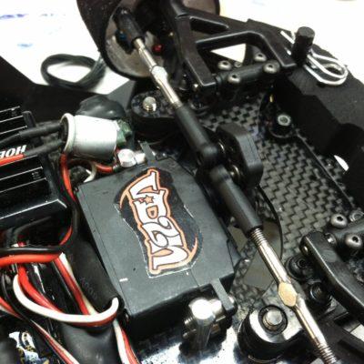 New Xray servo mounts, and Xray servo saver on both  1/12 cars.