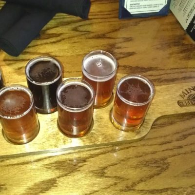 We started the trip out right with a Sampler in minocqua,wi