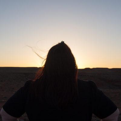 Kate at Sunset