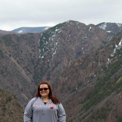 Kate at the Black Canyon