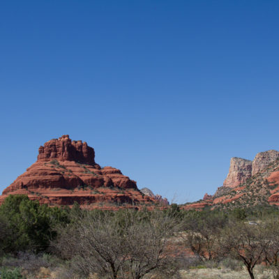 outside our window in Sedona