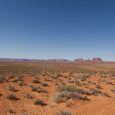 Wide Shot of Monument Valley
