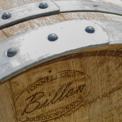 Learned all about the difference between French Oak, American Oak, barrel re-cooping, etc...   awesome craftsmanship goes into these.