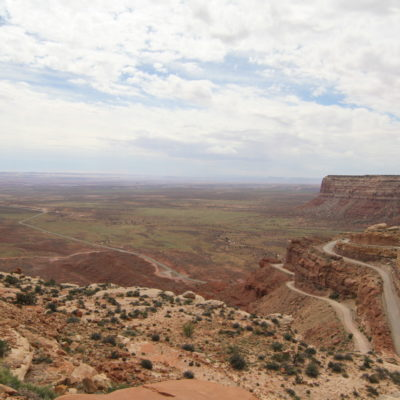 Moki Dugway from above