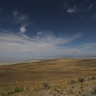 The views from Antelope Island looking west.