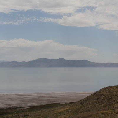 View from Antelope Island looking south