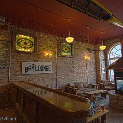 HDR - The lounge @ the Keweenaw Brewing Company