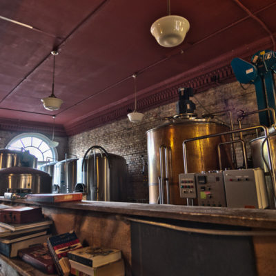 HDR - The Brewing Setup @ the Keweenaw Brewing Company