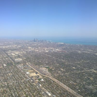 Flying into Midway