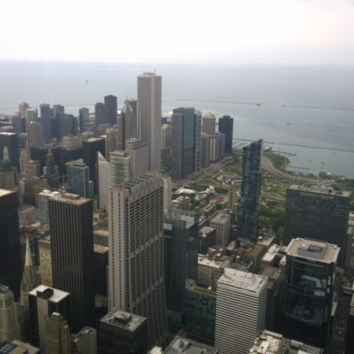 View from the Willis Tower
