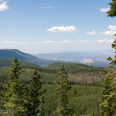View from Powderhorn Ski Resort of Grand Mesa