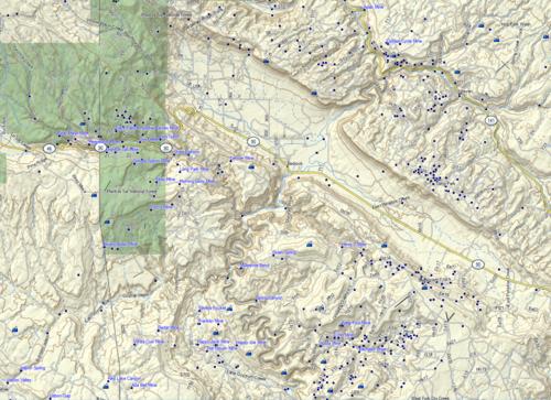 Missing Western CO, and Utah