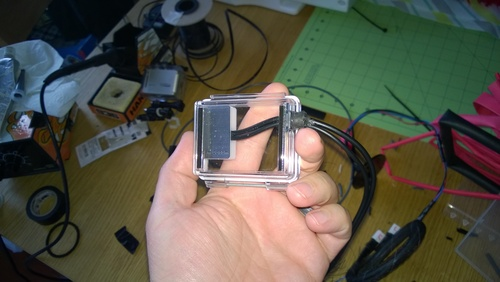 GoPro Camera hard wired charger and trigger V3