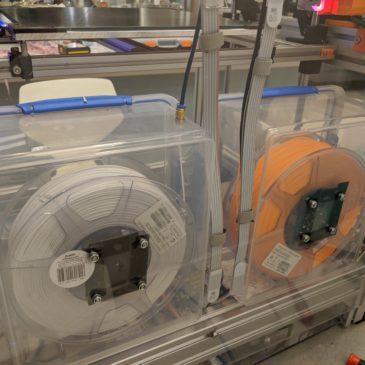 Printer nearing its final form