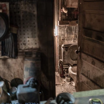 Burned Out Junk Store Photography
