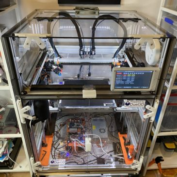 Finished! – My custom IDEX 3D printer is complete!
