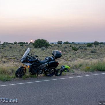 A Motorcycle Trip Cut Short : 2020 Strikes again.