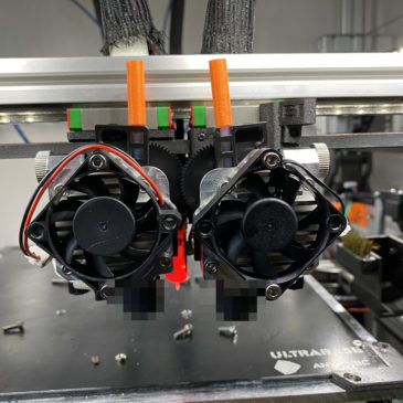 Rebuilding the X Axis of the printer, and Passive chamber heating macro design