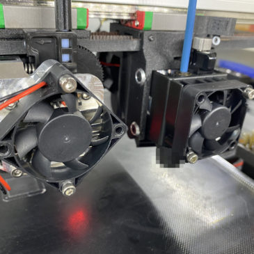 Heat deforming, E3D Hemera Installed, and fixings!